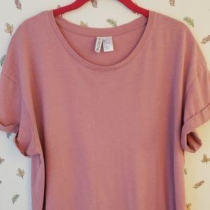 Women's Tunic length T-shirt